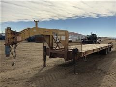 1996 Belshe DT-235 T/A Fifth Wheel Flatbed Trailer