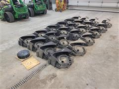Case Early Riser 1250 Seed Meter Assemblies W/Corn Discs