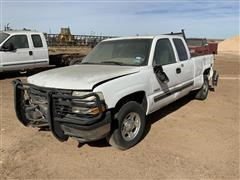 2001 Chevrolet 1500 LS Extended Cab Pickup (INOPERABLE)