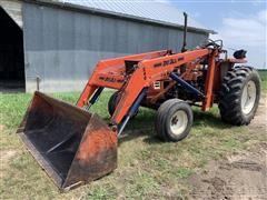 Hesston 60-66 Utility Tractor W/Loader & Bucket