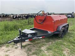 2021 X Star 750 Gal T/A Portable Fuel Trailer