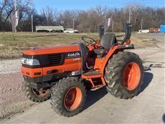 2000 Kubota L3410D MFWD Compact Utility Tractor