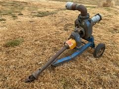 Gorman-Rupp 84B2-G Pump On Cart