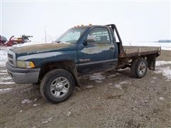 1994 Dodge RAM 2500 SLT Laramie 4x4 Regular Cab Flatbed Pickup