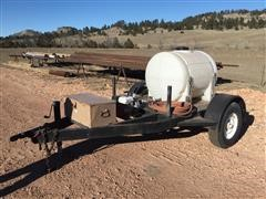 Fire Fighting Sprayer On Trailer