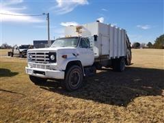 1984 GMC 7000 S/A Garbage Truck W/Diesel