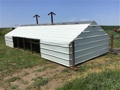 Pinkelman Portable Calf Shelter