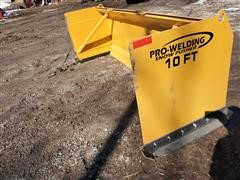 2020 Industrias America Front Loader Snow Pusher