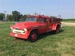 1957 Chevrolet 6B57 Fire Truck