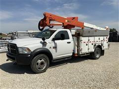 2012 Ram 5500 Heavy Duty 4x4 Diesel Altec Bucket Truck