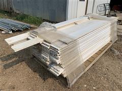 Hog Confinement PVC Planking