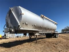 1997 Warren AT-36-SER9 T/A Bulk Feed Trailer