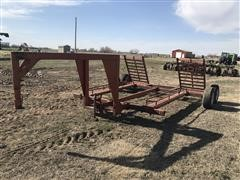 1988 Donahue SC-66-T T/A Swather Trailer