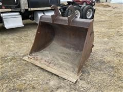 "WBM 56"" Smooth Edge Excavator Bucket"