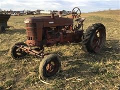 1941 International M 2WD Tractor For Parts