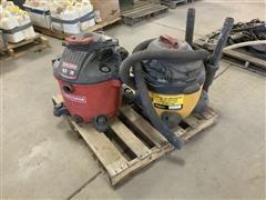 Craftsman & Shop-Vac Vacuum Cleaners