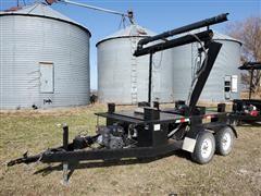 2013 J R Welding Roth Seed Caddy 2 Box T/A Seed Tender