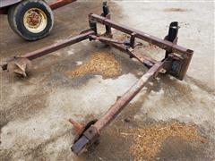 Shop Built Round Bale Unroller