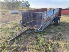 Brehmer Small Livestock Hydraulic Cart
