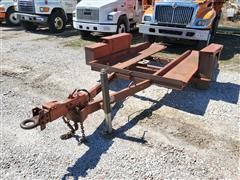 1979 DitchWitch S4 S/A Tilt Bed Trailer