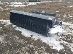 2020 JCT Rotary Broom Skid Steer Attachment