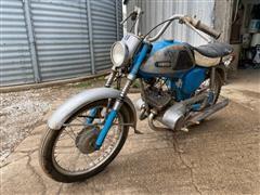 1967 Yamaha Twin Jet Motorcycle