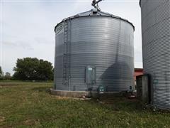 2010 Sukup 14024 Grain Bin W/Channel-Lock Aeration Floor
