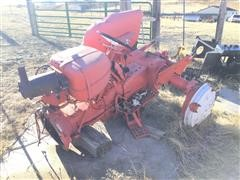 Allis-Chalmers D17 Tractor Rear Half For Parts Only