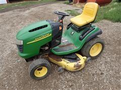 """John Deere L130 Lawn Tractor W/48"""" Deck"""