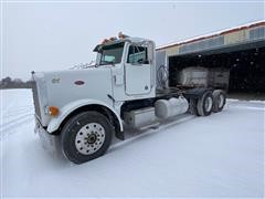 1990 Peterbilt 378 T/A Day Cab Truck Tractor