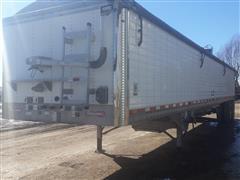 2012 Wilson DWH-500 T/A Grain Trailer
