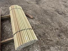 1-1/4 X 5' Long High Tensile Electric Fiberglass Fence Post
