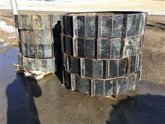 B&B Galvanized Coated Steel Irrigation Wheels