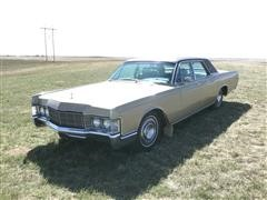 1969 Lincoln Continental 4DR Sedan