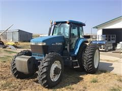 1995 Ford 8670 MFWD Tractor