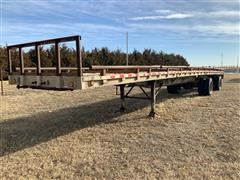 1998 Wilson CF-900 T/A Flatbed Trailer