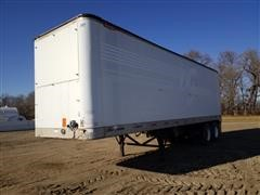 1995 Great Dane T/A Enclosed Van Trailer W/Water Pump & Tanks