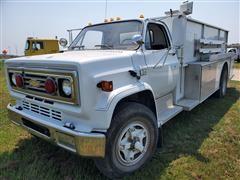 1989 Chevrolet C70 S/A Tanker Truck