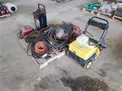 Battery Chargers, Power Cords, Pressure Washer