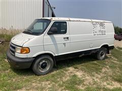2000 Dodge 3500 Cargo Van