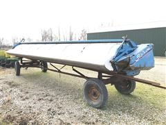 2011 Shelbourne Reynolds RX60 Rice Special Stripper Header & Trailer