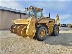Brown Bear BB1 4WD Tractor W/Backfill Auger & Backhoe