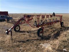 2018 H&S 4112 Hi-Capacity 12 Wheel Hay Rake