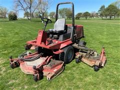 2000 Toro Grounds Master 4000-D 4WD Wide Area Mower