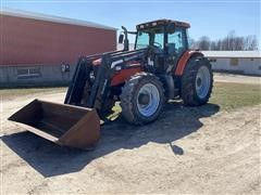 2009 AGCO RT120A MFWD Tractor W/Loader