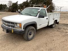 1998 Chevrolet K2500 4x4 Pickup W/Service Box