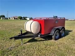 2021 Industrias Agricolas 1000-Gallon T/A Fuel Trailer