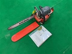 """Dolmar Commercial 20"""" PS6100 Chainsaw"""