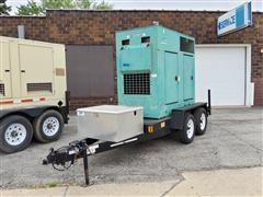 2005 Cummins 50KW Trailer Mount Towable Generator