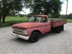 1962 Ford F350 Truck W/Dump Bed